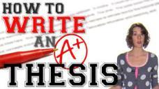 How to Write the Best Thesis